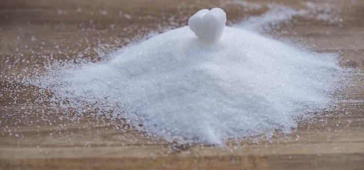 Zuckerhaufen mit Herz